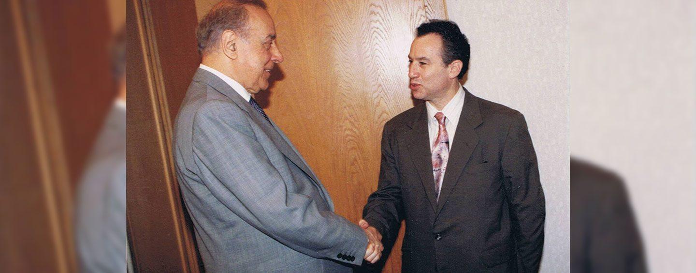 Meeting with the President Heydar Aliyev Bolstered My Interest in Promoting Azerbaijan Globally