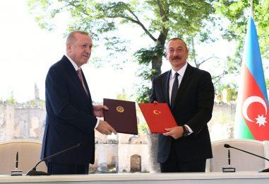 Azerbaijan and Turkey Signed a Military Alliance – on the Shusha Declaration