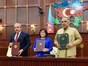 Parliament Speakers of Azerbaijan, Turkey and Pakistan Signed Baku Declaration