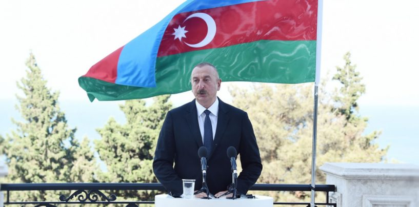 Ilham Aliyev: Our Lakes and Rivers Have Been Polluted and We Have Already Appealed to International Organizations