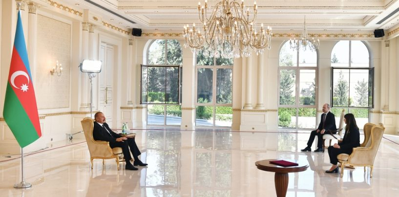 Ilham Aliyev: Responsibility For War Lies Not Only With Armenia…