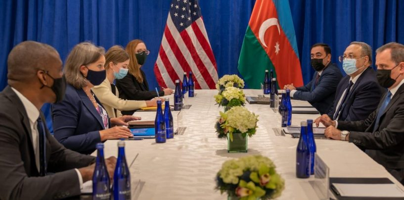 US Under Secretary of State Thanks Azerbaijan for Helping to Evacuate People from Afghanistan