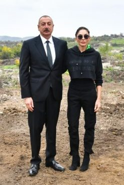 President Ilham Aliyev and First Lady Mehriban Aliyeva Visited Fuzuli District